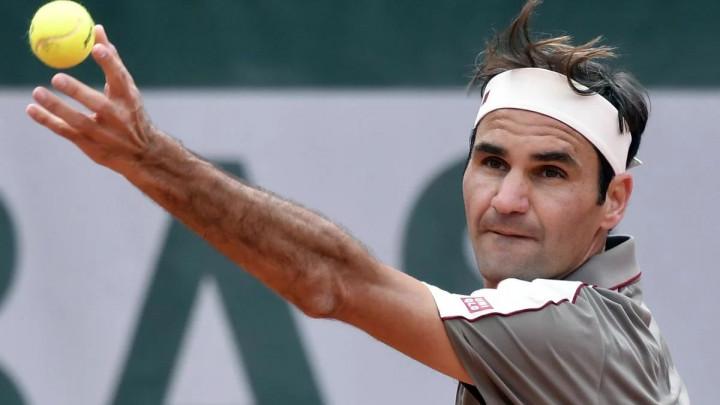 Federer  igrao danas protiv sina svog rivala iz 1999. godine