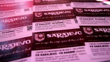 Poznati dobitnici ulaznica za meč Sarajevo - Radnik