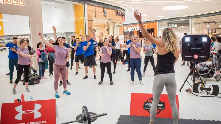 U Banjoj Luci održan drugi po redu Workout Challenge BY Under Armour & Sport Vision