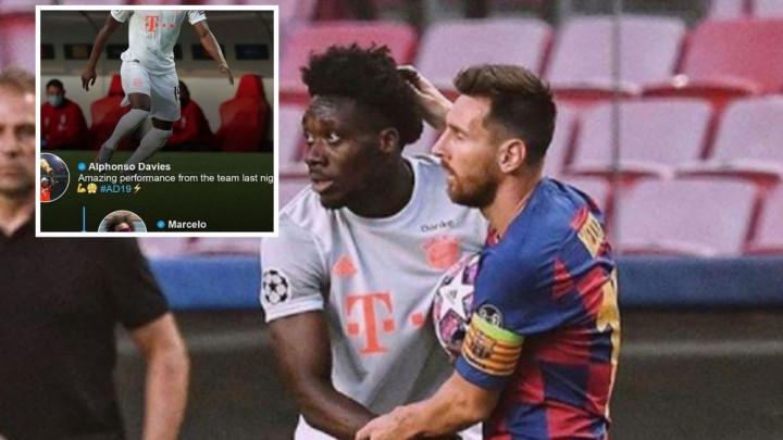 Davies objavio fotografiju s Messijem, a komentar Marcela sve ostavio bez teksta