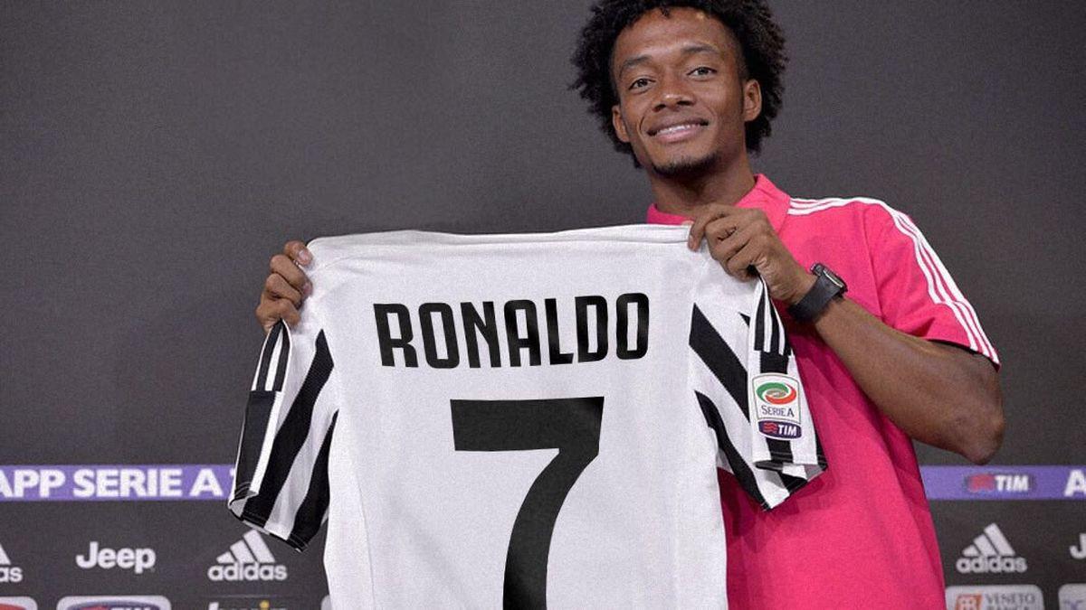 Cuadrado preko Twittera prepustio 'sedmicu' Cristianu Ronaldu