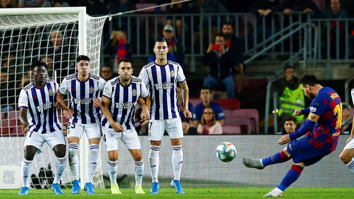 Genijalni Leo Messi i Barcelona razbili Valladolid