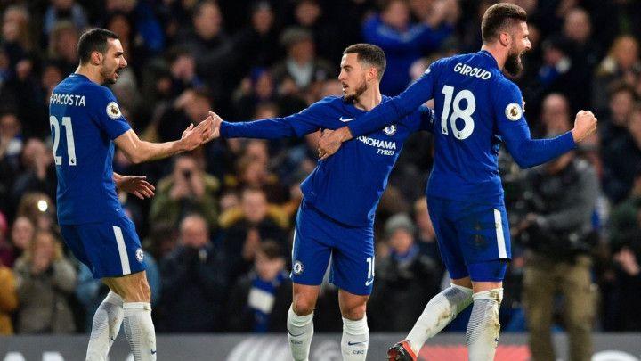Sjajni Hazard vodio Chelsea do rutinske pobjede protiv WBA