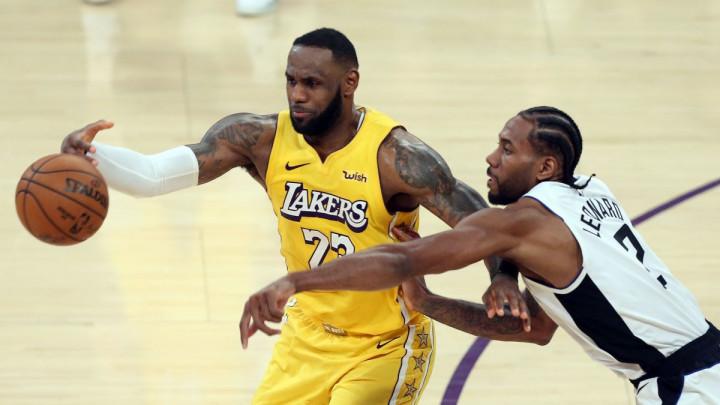 """Vraća nam se NBA liga i odmah """"skandal"""" na kladionici: Okršaj Lakersa i Clippersa u centru pažnje"""