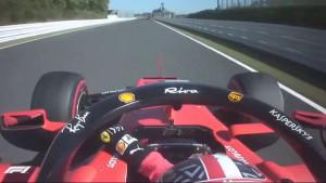 Leclerc jednu od najtežih krivina u Formuli 1 prošao s jednom rukom