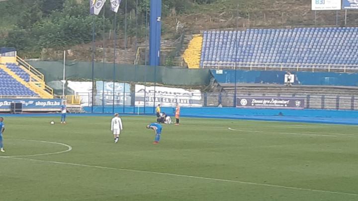 Ermin Zec zbog žestokog prekršaja napustio teren: Pogledajte kako izgleda noga igrača FK Željezničar