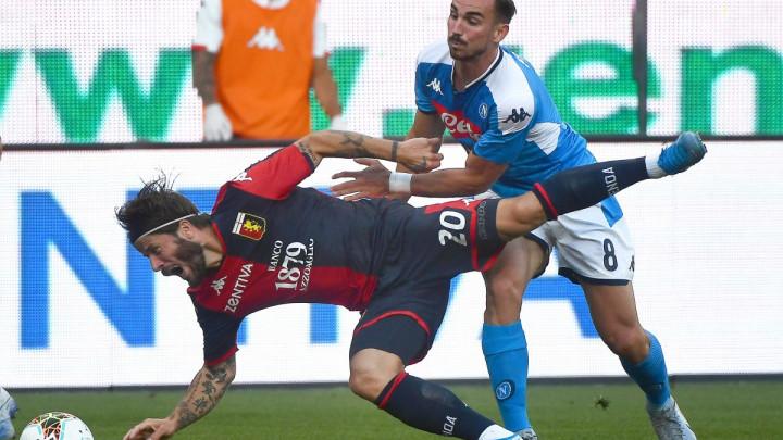 Pobjeda Napolija na Luigi Ferrarisu