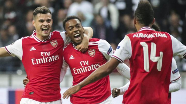 Arsenal bez većine prvotimaca slavio u Frankfurtu, Basel deklasirao Krasnodar