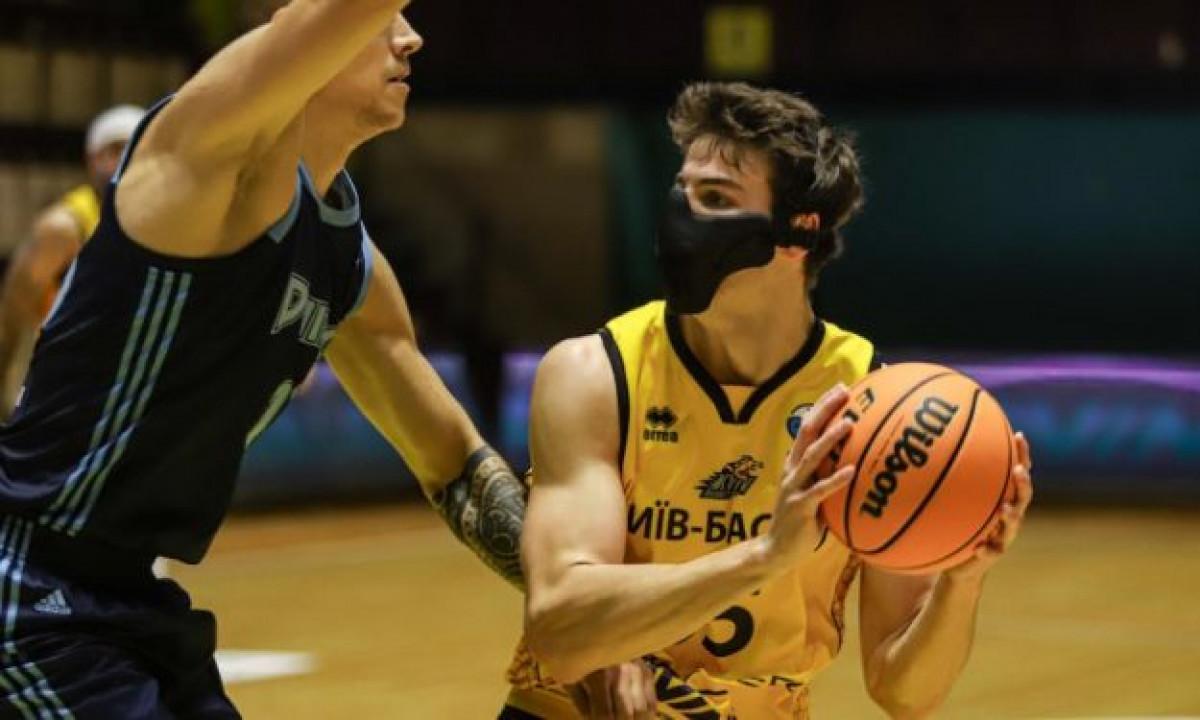 Košarkaš ukrajinskog Kyiva odigrao utakmicu s maskom na licu