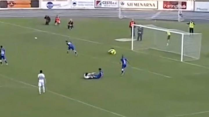 Kjosevski se vratio na gol i onda nevjerovatnim odbranama spasio Želju