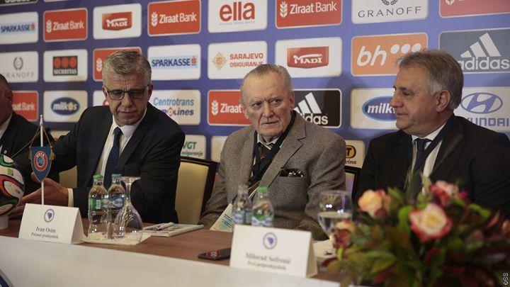 U Skoplju uspješna misija čelnog čovjeka bh. fudbala