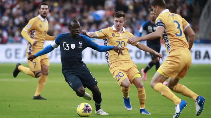 Letargični Francuzi preokretom do pobjede, Albanija podbacila protiv Andore