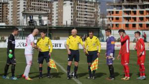 Sudije iz Premijer lige će suditi veliki derbi između FK Olimpik i FK Velež