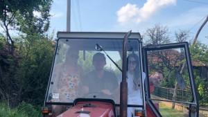 Bobi Marjanović se po selu vozao u traktoru
