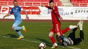 Haskić pogodio za vodstvo Radničkog, ali je Partizan na kraju ostvario visoku pobjedu