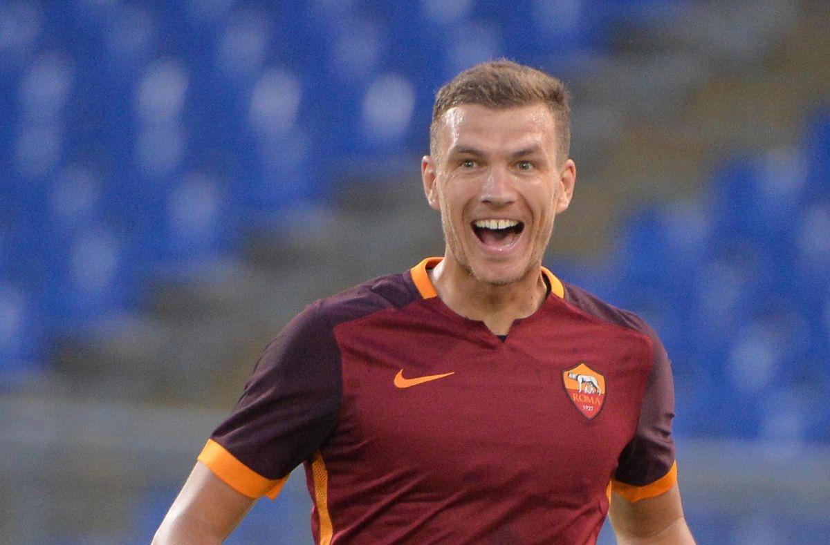 Džeko za Romu debitovao prije pet godina i to baš protiv Seville kada ih je uništio