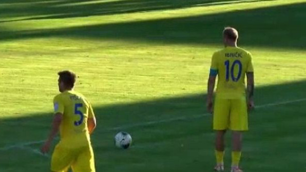 Svaka čast majstore: Senijad Ibričić postigao sjajan gol i donio bod svom timu