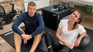Džeko je trebao preći u Inter, a onda je Amra dobila poziv: Noge su mi se tresle...
