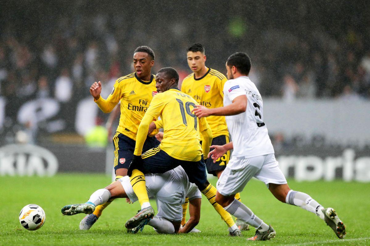 Duarteove škarice za bod Vitorije protiv Arsenala