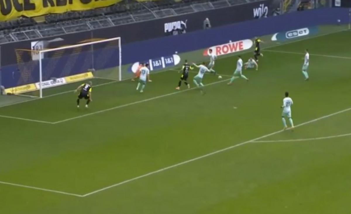 Erling Haaland danas je postigao najlakši gol u svojoj karijeri