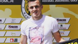 Dosadašnji fudbaler Mladosti predstavljen u novom klubu