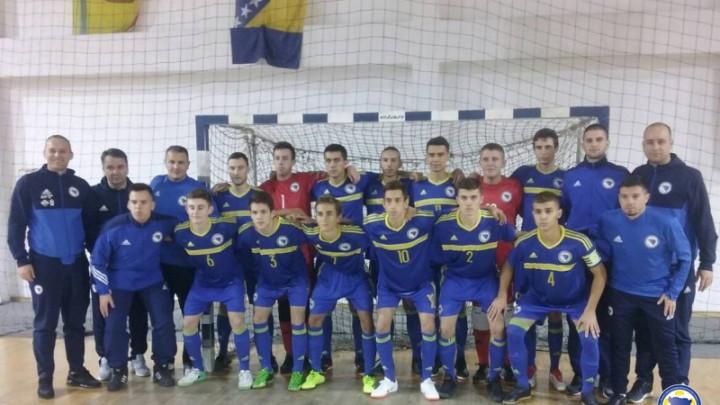 Juniorska futsal selekcija BiH poražena od Slovenije