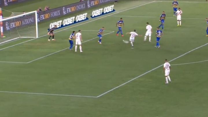 Roma u finišu prvog poluvremena uspjela izjednačiti protiv Parme