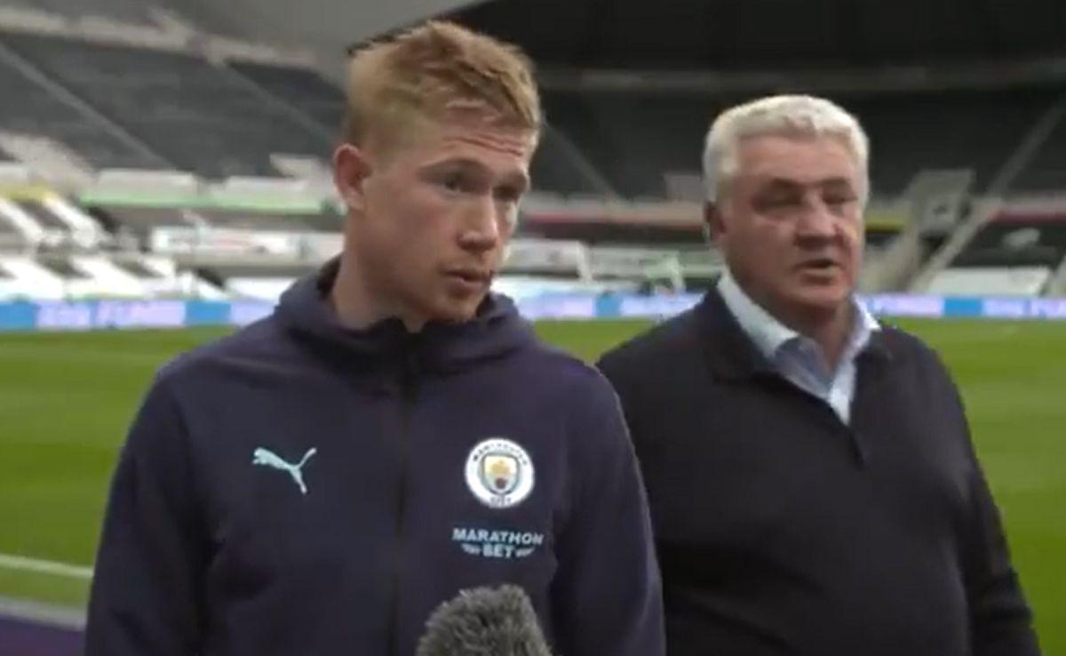 Ulet na intervju kakav se odavno nije vidio: De Bruyne se nasmijao na ekskluzivu trenera Newcastlea