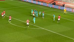 United ponovo vodi: Fantastičan gol Brune Fernandesa iz slobodnjaka