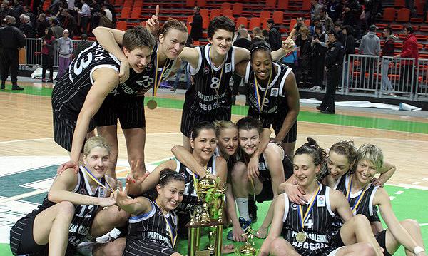 Košarkašice Partizana pobjednice regionalne lige
