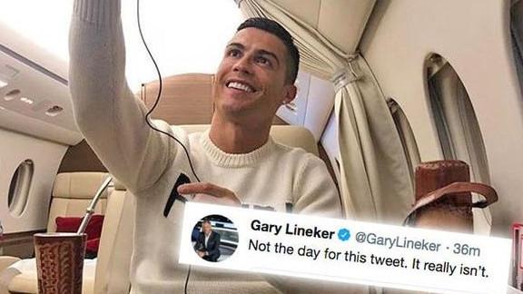 Cristiano Ronaldo na udaru zbog selfieja iz aviona: Nije dan za ovakvu objavu!