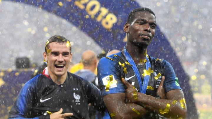 Dašak NBA lige u Francuskoj: Pogba i Griezmann zlatnim Trikolorima kupili zanimljve poklone