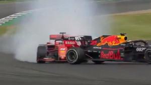 Pogledajte incident koji je obilježio trku Formule 1 u Silverstoneu