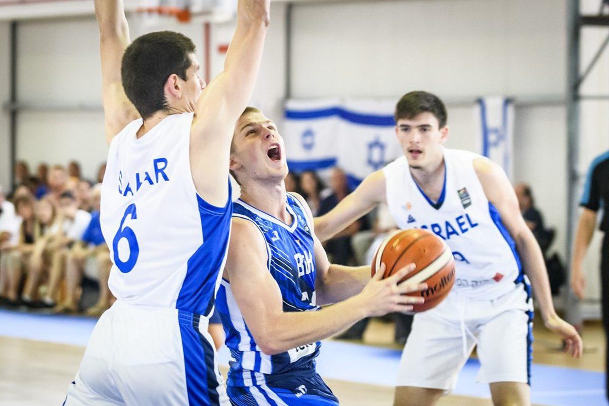 Izrael bolji od bh. juniora, naša selekcija će razigravati za plasman od 9. do 16. mjesta