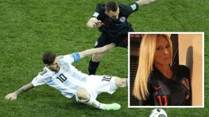 Kada vidite sestru hrvatskog reprezentativca, zaboravit ćete da se igra Mundijal!
