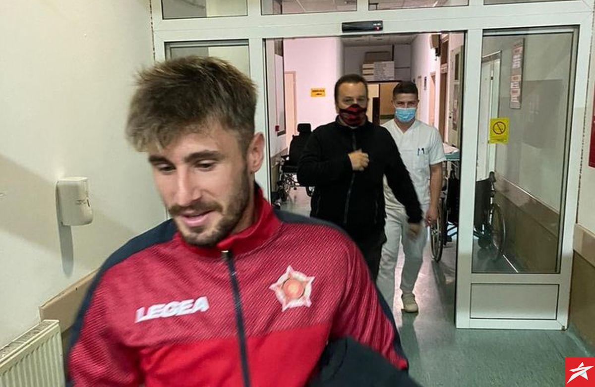 Očekuju ga detaljni pregledi: Mujagić napustio bolnicu i vratio se u Tuzlu