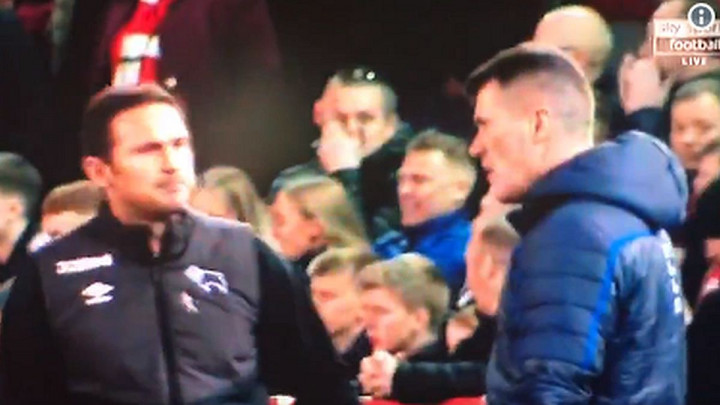 Detalj s kraja meča oduševio navijače Chelseaja: Šta je Lampard poručio Keaneu?