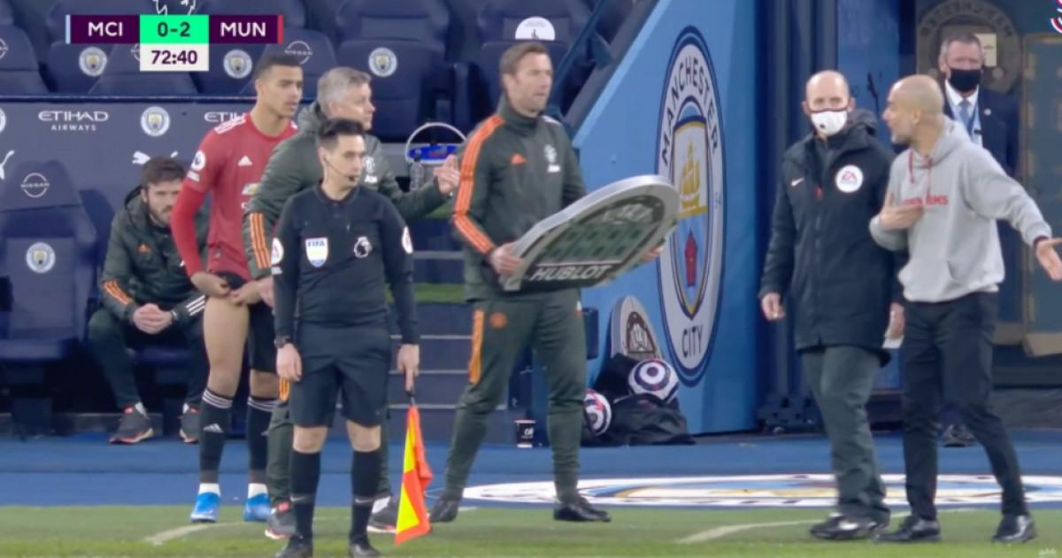 Solskjaer i Guardiola 'zakuhali' pored terena