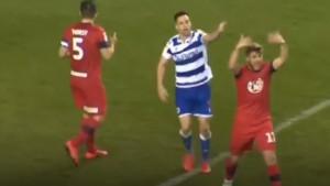 Užasne scene: Fudbaler Wigana saigrača poslao u bolnicu