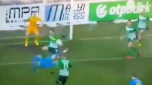 Marin Jurina postigao spekakularan gol škaricama protiv Ferencvaroša