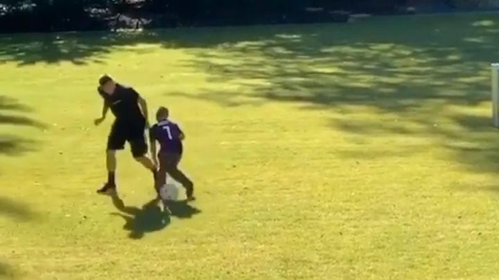 Franck Ribery u fudbalu nema milosti ni prema svom sinu