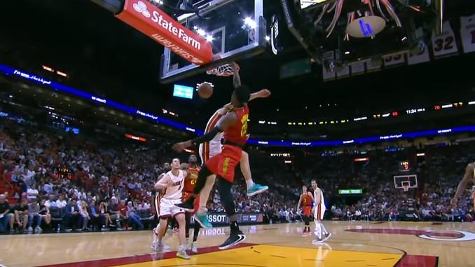 Kucanje rookieja Hawksa je potez večeri u NBA ligi