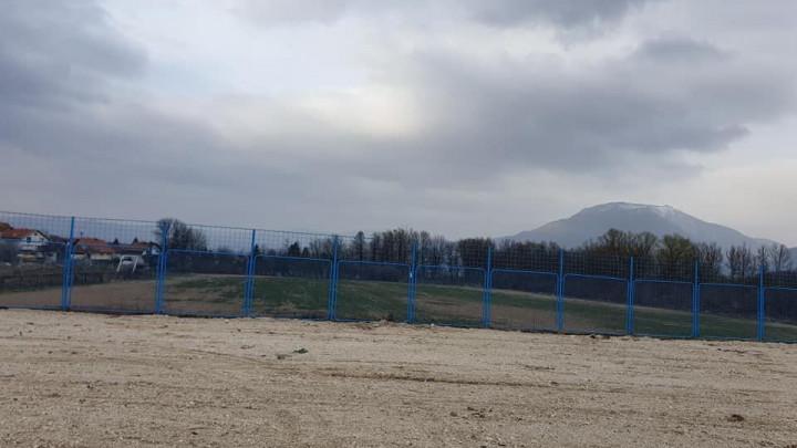 Pomoćni teren bugojanske Iskre nakon četiri mjeseca izgleda neprepoznatljivo