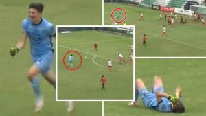 Sreća, pa tuga: Golman zabio golčinu u 94. minuti, ponovo otišao u napad, šutirao i šokirao se