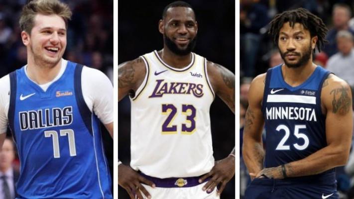 Glasovi za All Star: LeBron ispred svih, Rose i Dončić bi mogli biti starteri