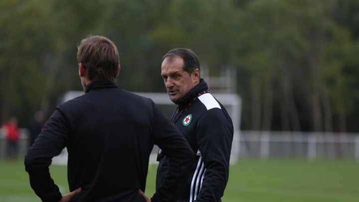 Hadžibegić odradio prvi trening, pa govorio o Šabandžoviću