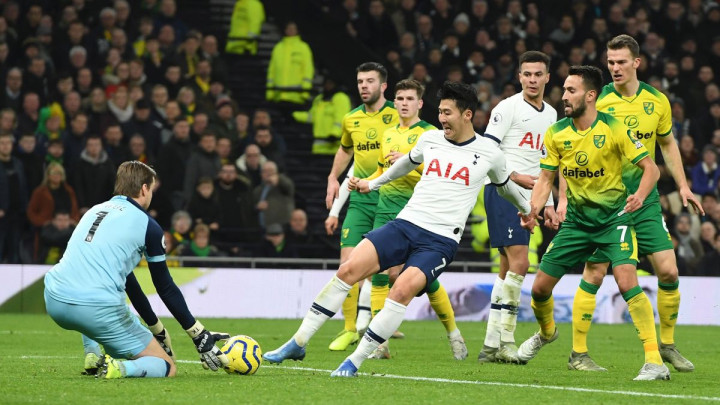 Tottenham konačno stigao do pobjede, Son junak protiv Norwicha