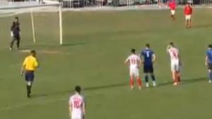 Vladavić nije pogodio sa 11 metara, stativa spasila FK Velež