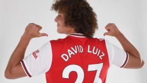 """David Luiz potpisao za Arsenal i izabrao """"kultni"""" broj na Emiratesu"""