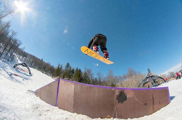 Biogradilić prvi u Snowboard battleu na Bjelašnici